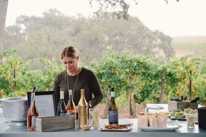 Paso Robles Harvest Wine Weekend at Hope Family Wines Bacon Fest by Amarie Design Co.