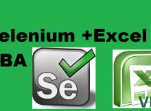 Selenium in Excel VBA
