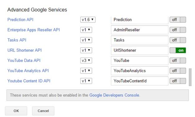 Advanced google services 3