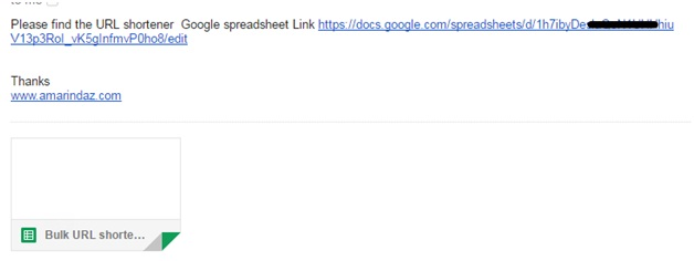 Gmail service for google sheets 7