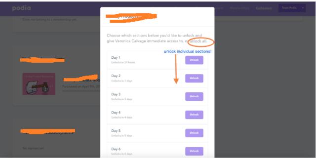 unlock for certain videos