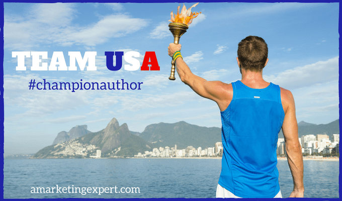 Olympic Giveaways! Become a Champion Author during the Rio Games