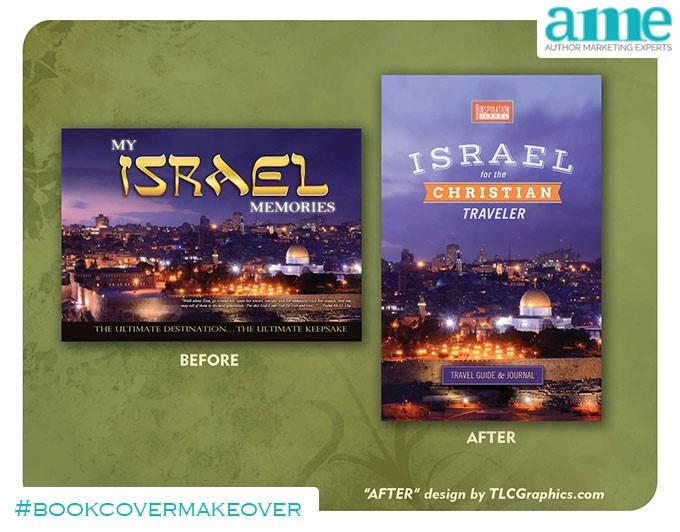 Israel #bookcovermakeover | AMarketingExpert.com