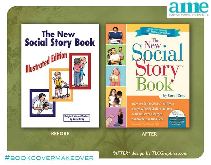 Social Story Book #bookcovermakeover | AMarketingExpert.com