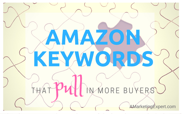 Amazon Keywords That Pull In More Buyers
