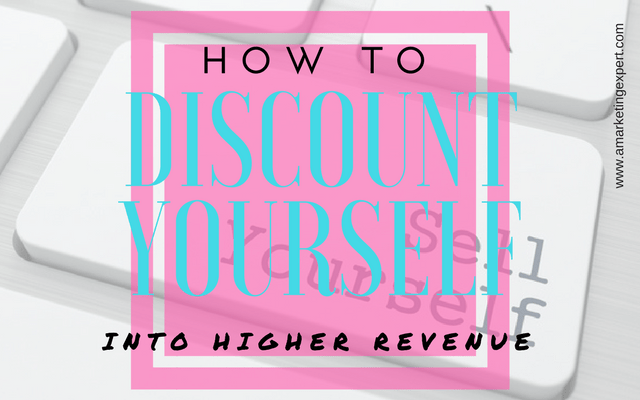 Book Marketing Strategy: How to Discount Yourself into Higher Revenue