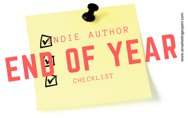 Indie Author End of Year Book Marketing Checklist
