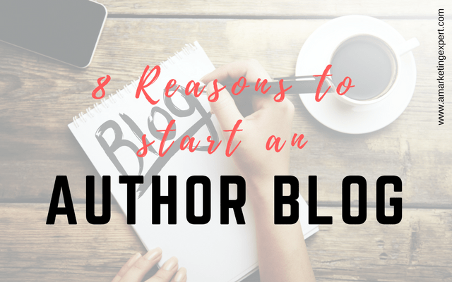 Eight Reasons to Start an Author Blog, a Book Marketing Sales Tool