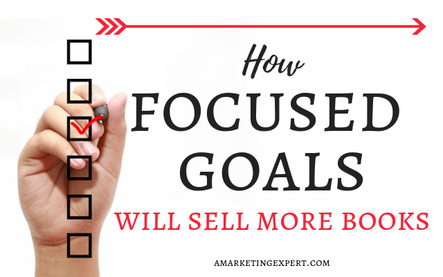 Goals to help sell more books