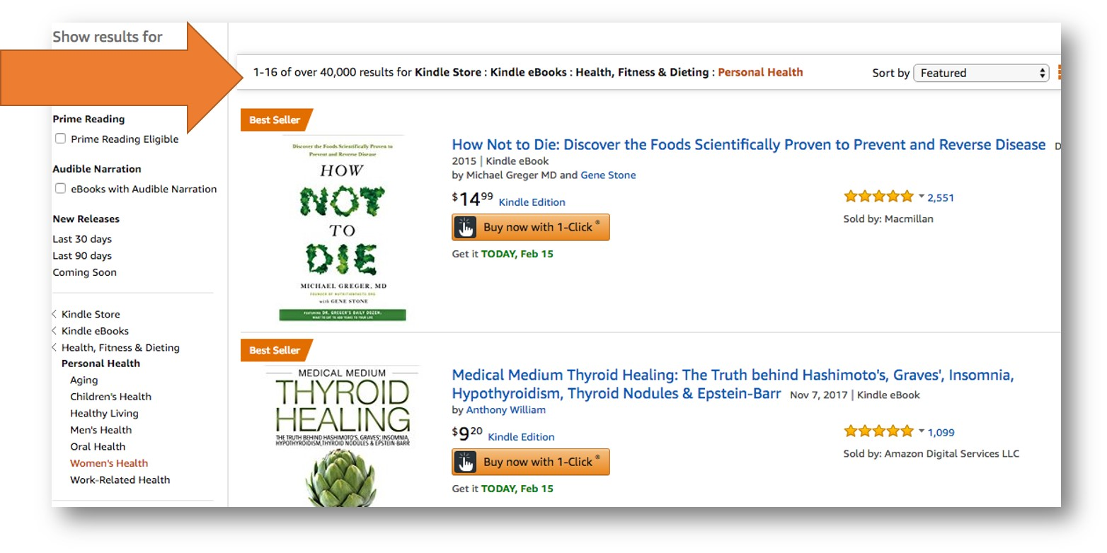 Amazon Categories to Maximize Book Sales   AMarketingExpert.com
