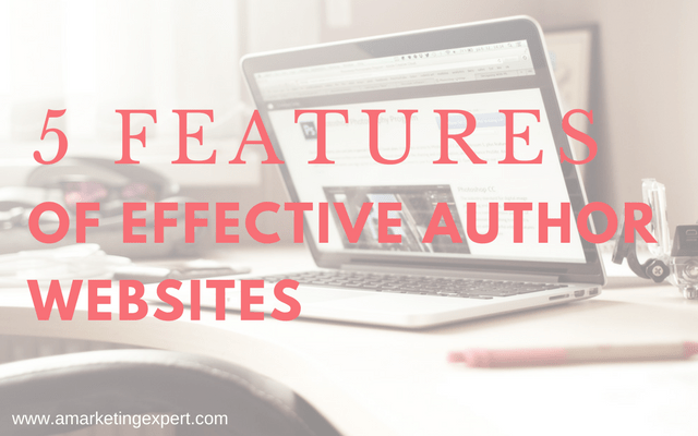 5 Features of Effective Author Websites