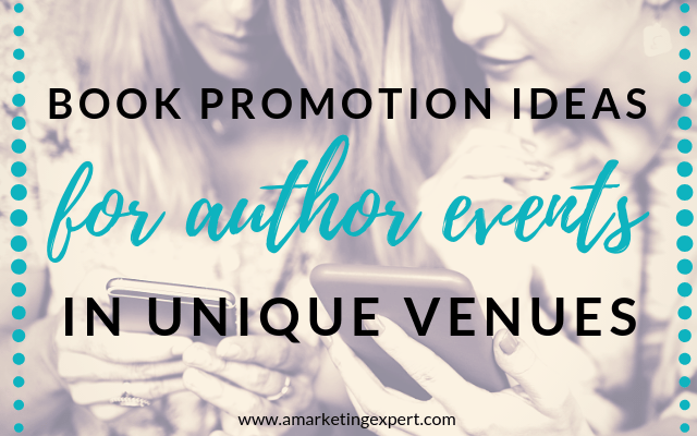 Book Promotion Ideas for Events