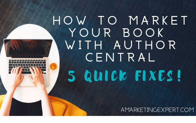 How to market your book with author central
