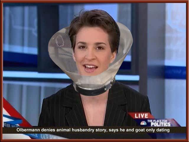Rachel Maddow show MSNBC anchor woman liberal