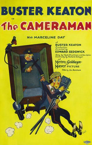 The Cameraman - Buster Keaton (1928)