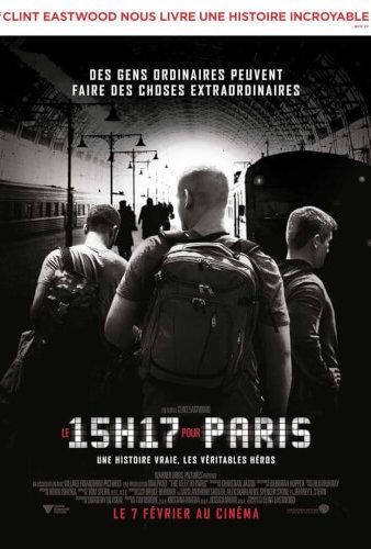 Le 15h17 pour Paris de Clint Eastwood (2018)