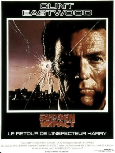 Le Retour de l'Inspecteur Harry - Clint Eastwood (1983)