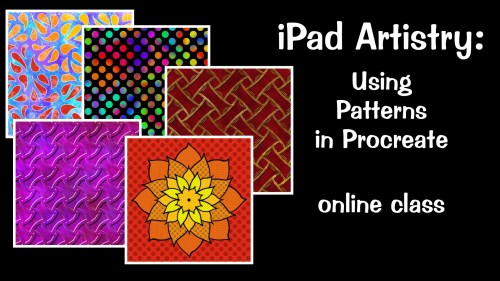 Using Patterns in Procreate online class