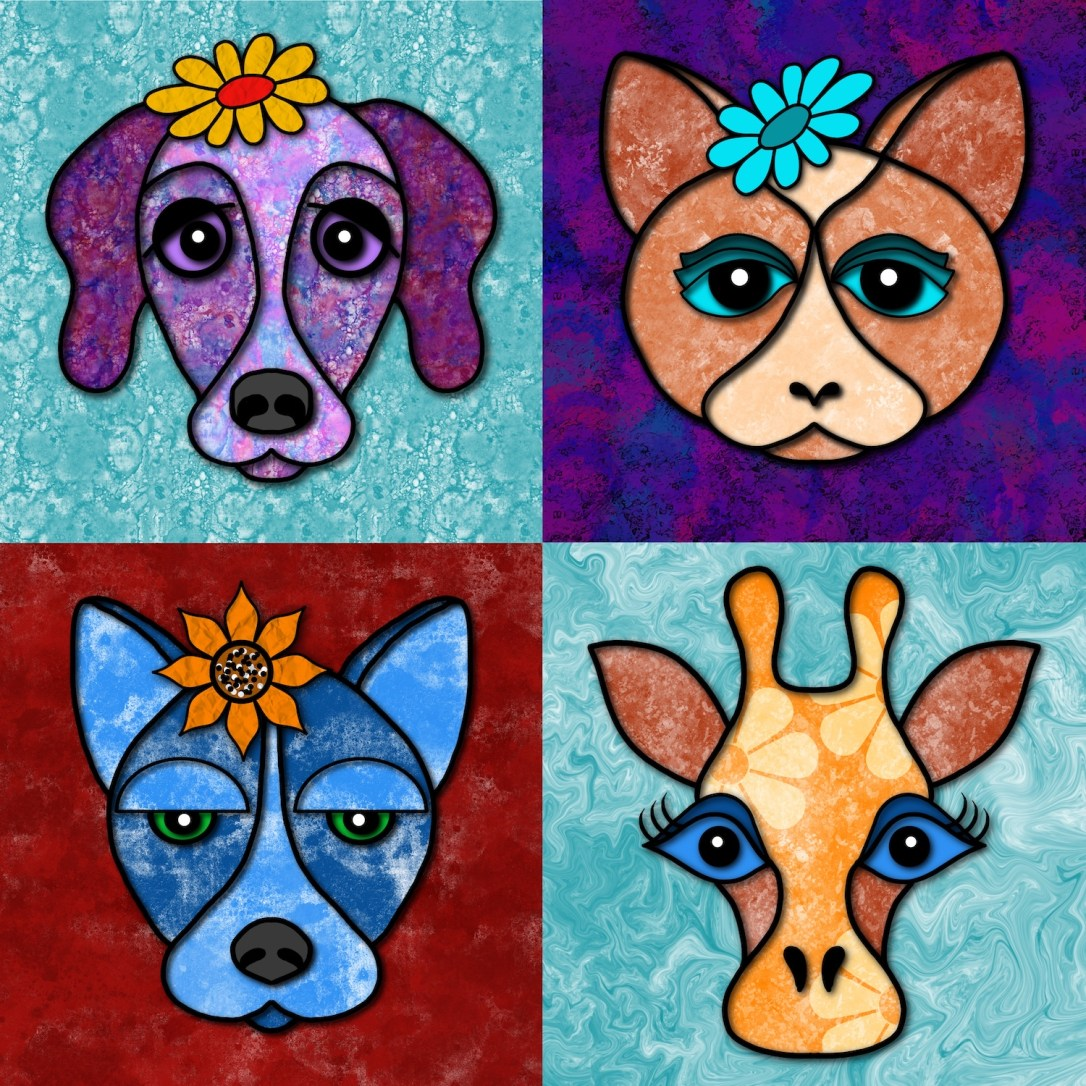 Quirky Animal Portraits online class
