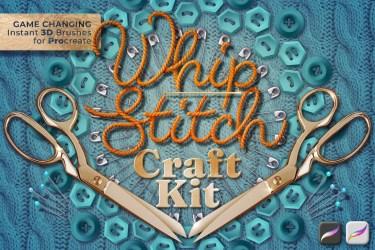 Whip Stitch Craft Kit for Procreate