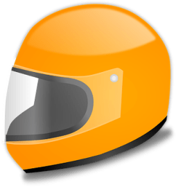 Yellow Helmet Graphic