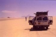 Comfort stop in the Tenere, Algeria
