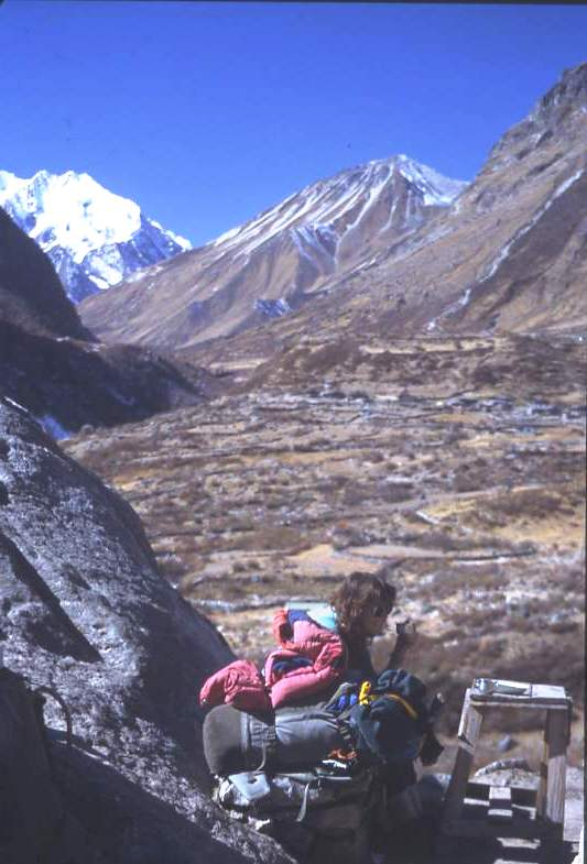 A welcome rest stop Ghora Tabela, Langtang, Nepal