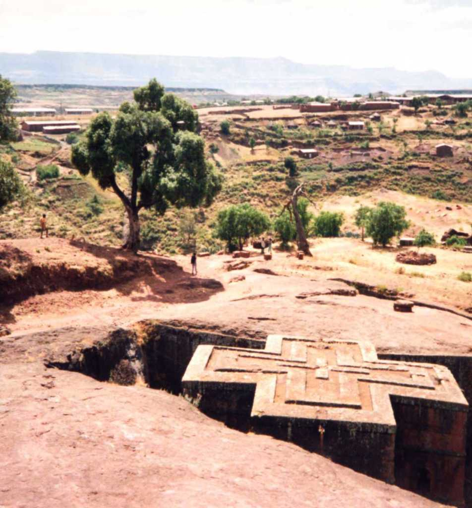 St Georges church Lalibela