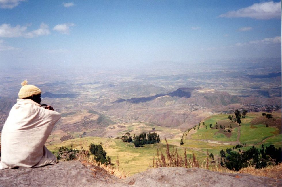 View over Lalibela area