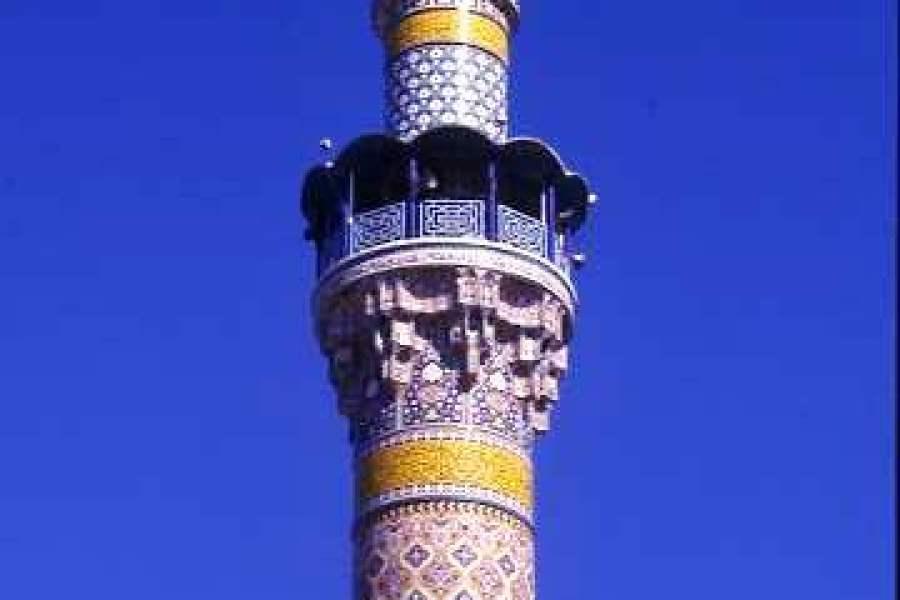 Minaret at Zaynab Mosque