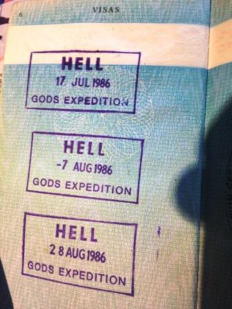 Passport Hell 'visas'