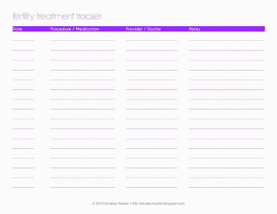 Fertility Treatment Tracker