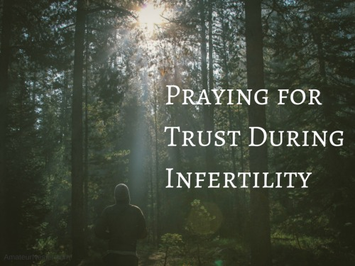 trust during infertility