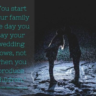 You Are Already a Family