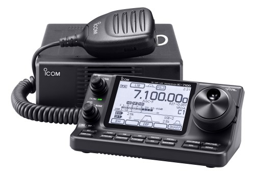 Picture of the ICOM IC7100 Transceiver