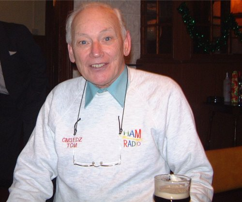 The death has been reported of well known Scottish Radio Amateur Tommy Hughes GM3EDZ