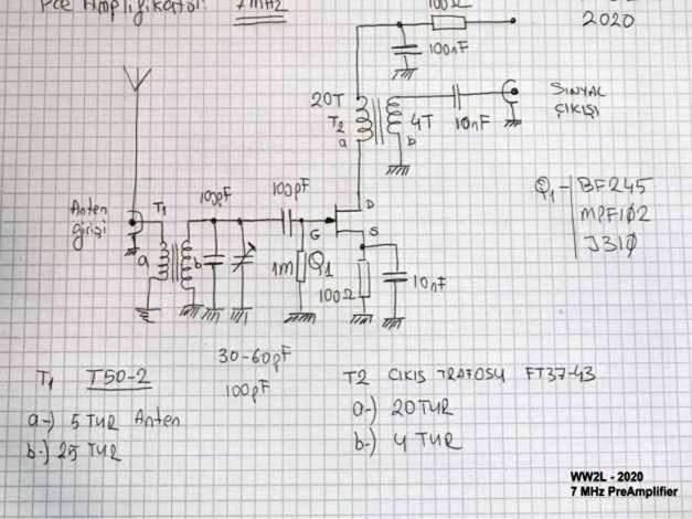 7 MHz Pre-Amp