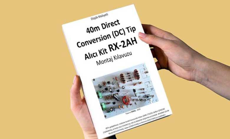 RX-2AH DC Alıcı Montaj Kılavuz dokümanı