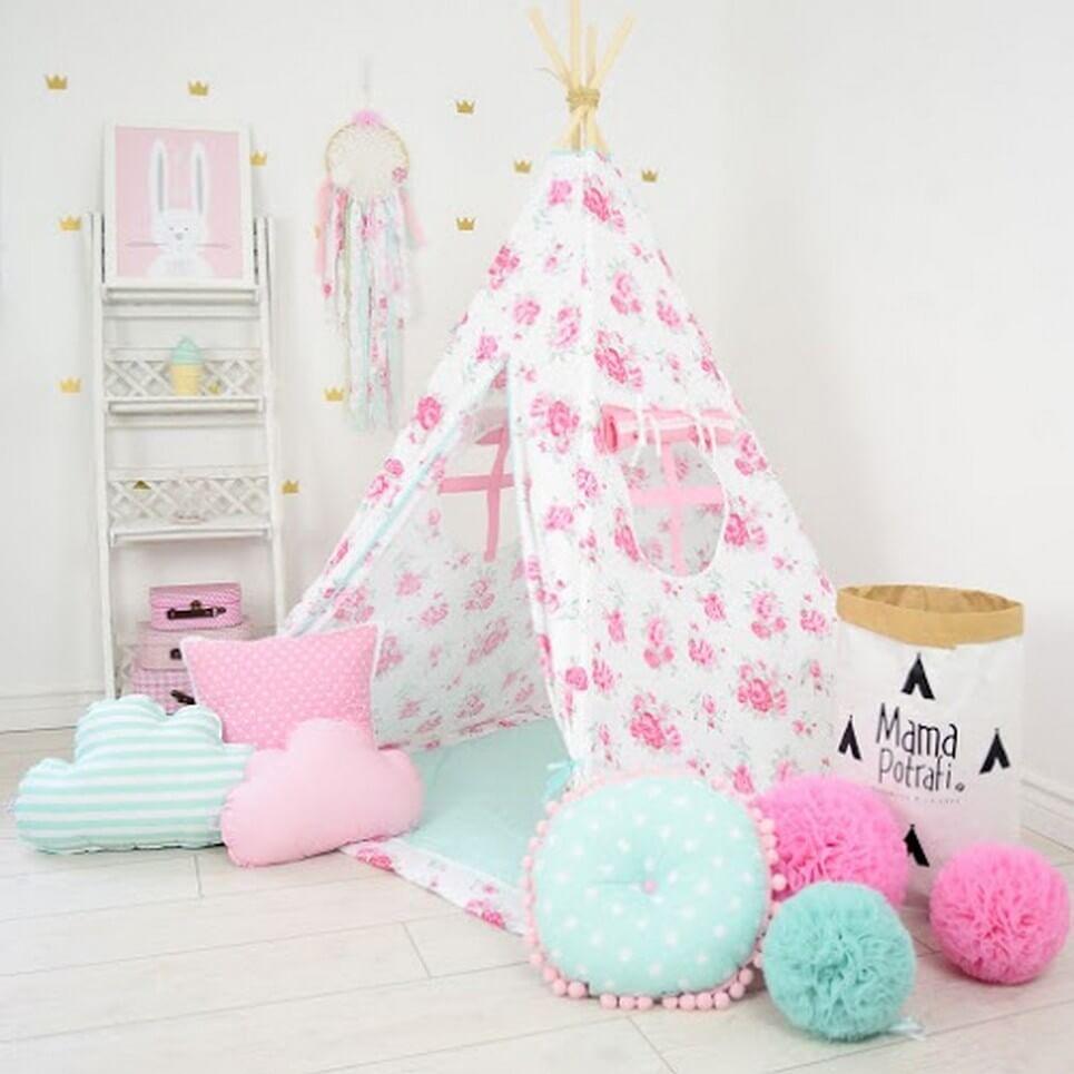 MSGFFK016 – Thumbelina Children's Teepee Tent