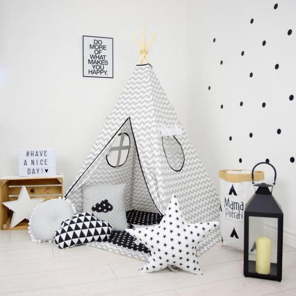 MSGFFK017 – Chevron Children's Teepee Tent