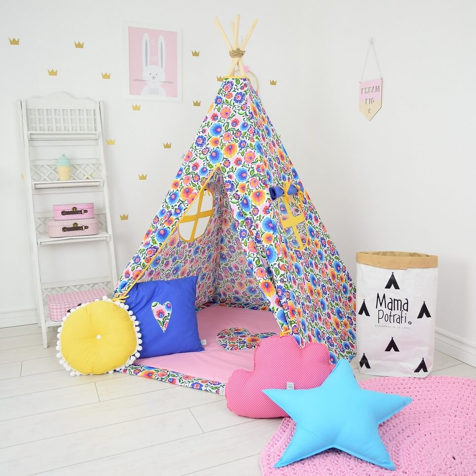 MSGFFK022 – Folk Love Children's Teepee Tent