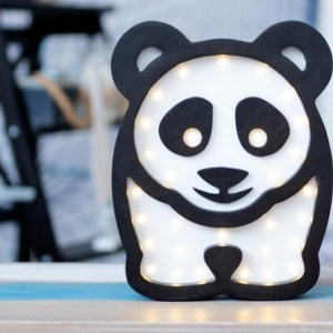 With a charming design, the Panda Wooden Night Light provides a reassuring glow for your little one, making it perfect for a nursery or kids room nightlight, or an interesting addition to any other space.