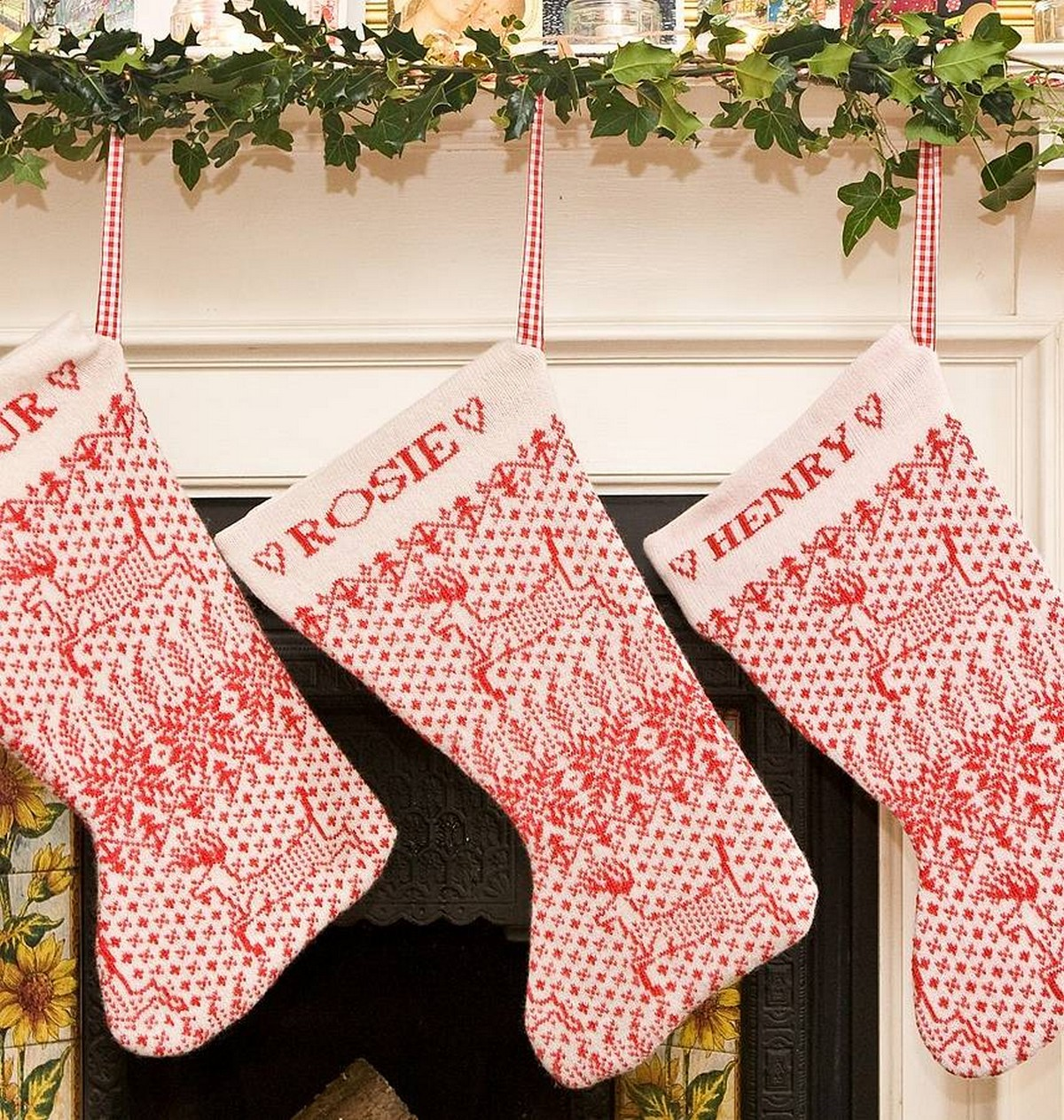 Christmas Stockings To Hang Above Your Fireplace Shopping Ideas