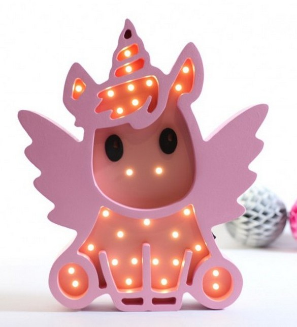 With a charming design, the Unicron Wooden Night Light provides a reassuring glow for your little one, making it perfect for a nursery or kids room nightlight, or an interesting addition to any other space.