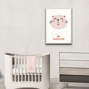 Perfect for any room in the home, the Children's Poster - Be awesome is a great piece of daily inspiration for your walls.