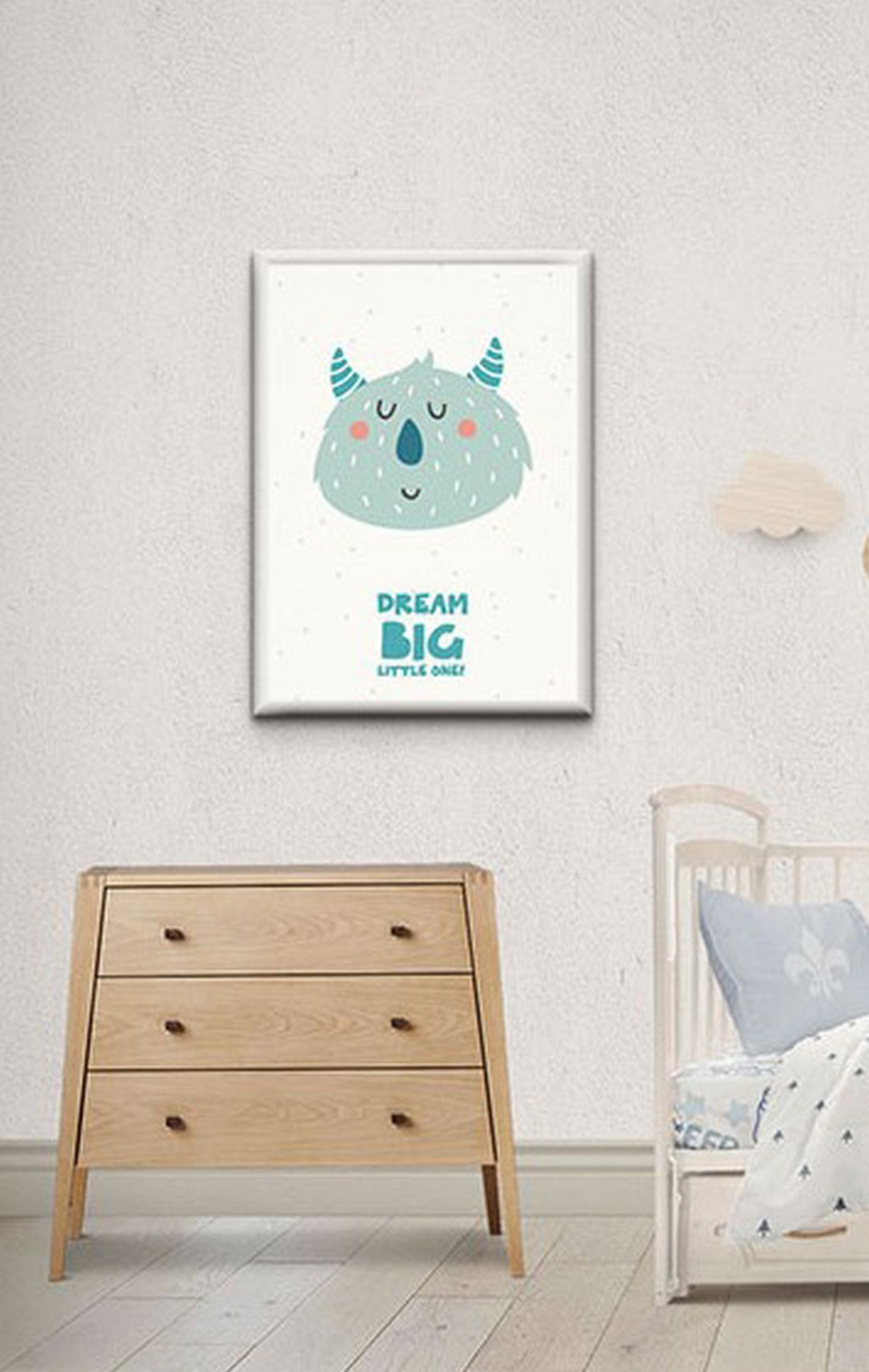 Children's Poster – Dream big little one – 4