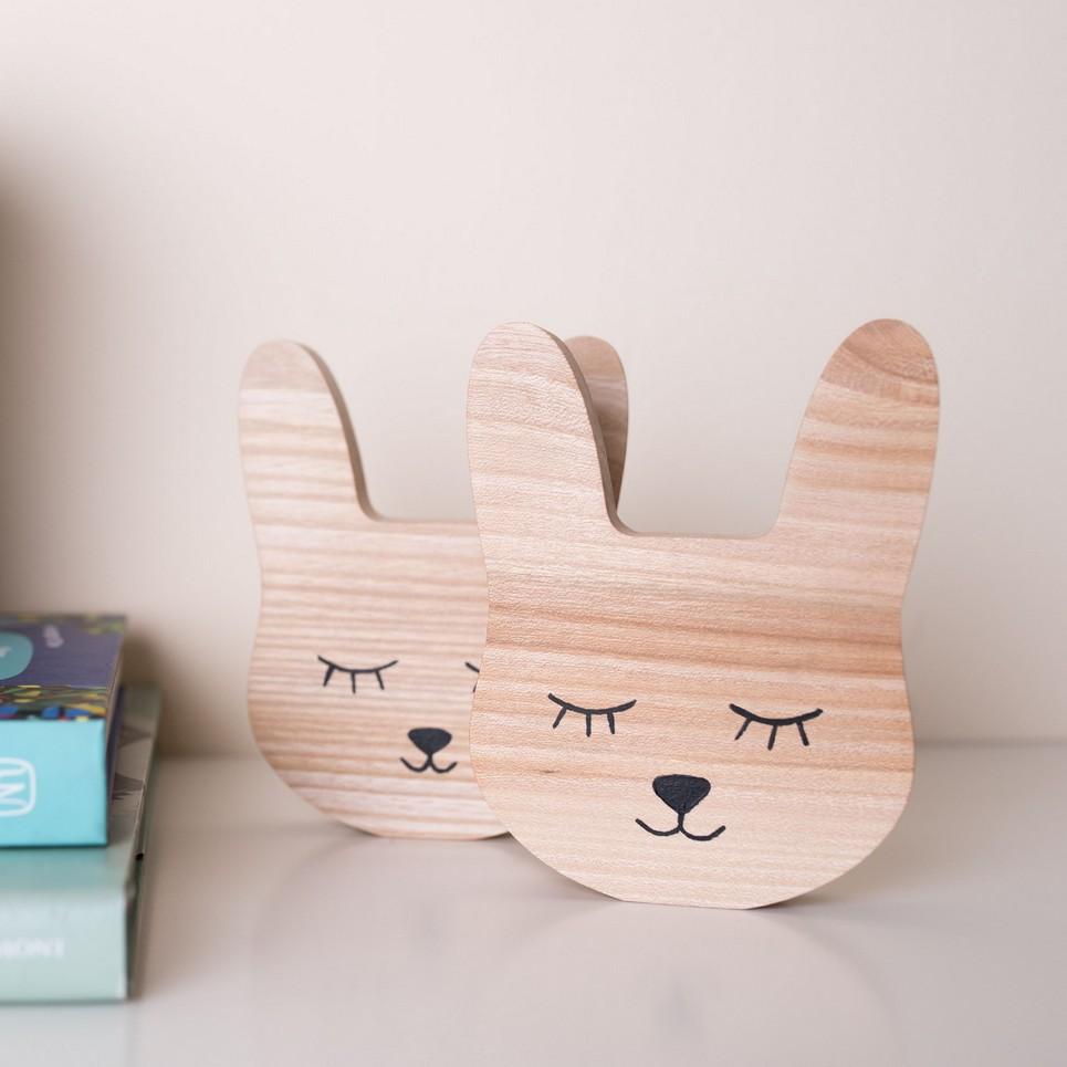 Rabbit Wood Toy