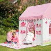 A wonderful unique gift that will provide hours of imaginary play for little children, the Rose Cottage And Tea Shop Playhouse is a beautiful handmade fabric playhouse.