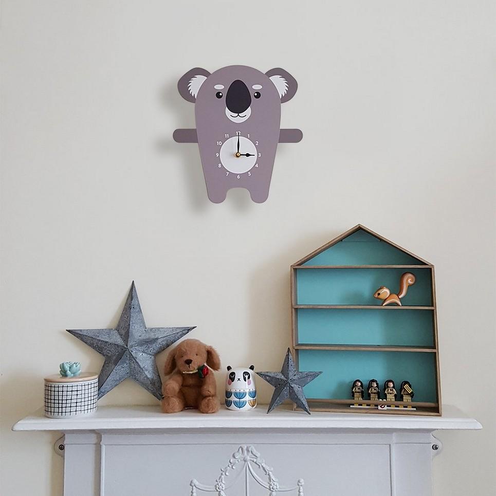 Kenny The Koala Wall Clock