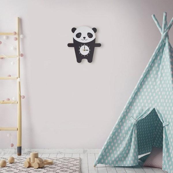 Penny The Panda Wall Clock